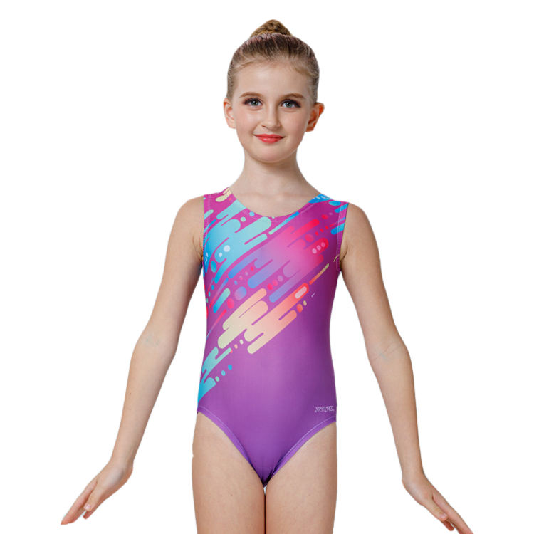 New design Leotard cheap sublimated Wholesale sublimated girls dance gymnastics leotards
