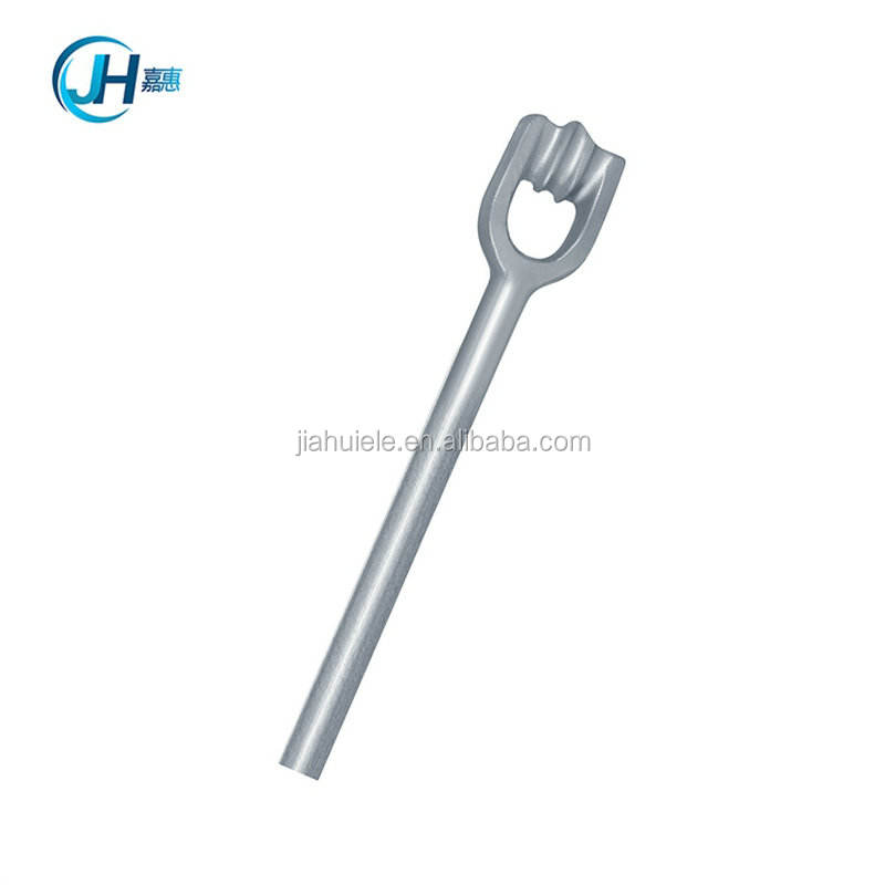 New products in china market pole line assembly helix screw anchor rod forged steel