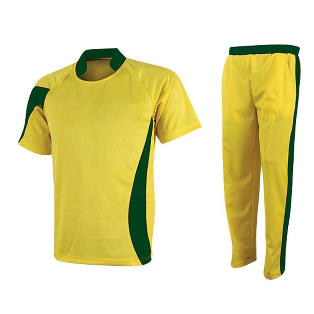 Top Quality 2020 Cricket Uniform With low MOQ light weight Custom Logo Team Name And Number