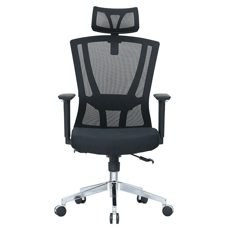Articulate Ergonomic Lumbar Support Managers Mesh Office Chair in Black