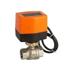 2 Way Electric Valve Actuator Motorized Controller Ball Valve Power On Off Two-way SS304 220v Valves
