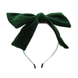 Girls headband bow