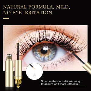 Custom Eyelash Growth Serum Private Label Liquid Organic Eyelashes Enhancer Eye Care Eye lash Extensions De Cils Longer Serum