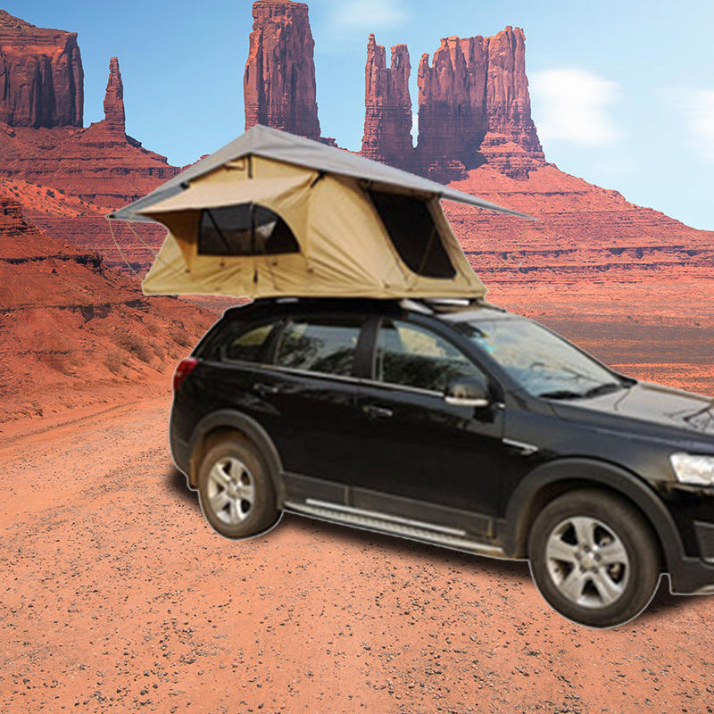 waterproof arb roof top tents hard car pickup truck shelter canvas 2 person camper trailer tent