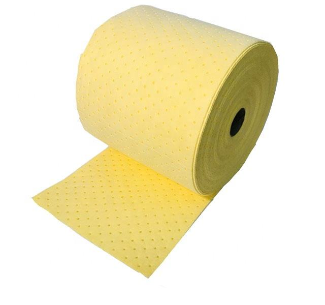 100% pp chemical absorbent roll for chemical spill