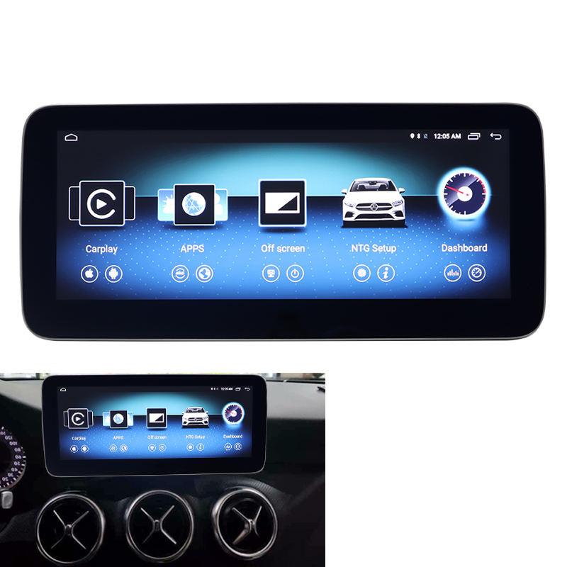 10,25 display HD 1920*720 Blau Ray Anti-Glare AVNT Für Mercede CLA GLA EINE Klasse W176 Android navigation tablet 2013-2015