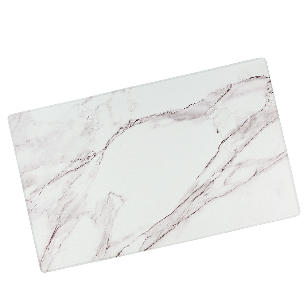 Marbling kitchen anti-skid PU floor mat anti-fatigue printing kitchen rug Comfortable Kitchen Mat
