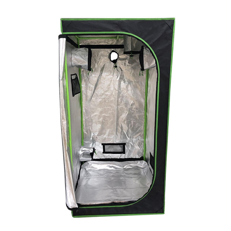 BLE High quality silver reflective thick mylar fabric complete grow tent kit indoor grow tent