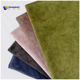 Popular item printing super soft holland velvet for sofa cover upholstery furniture textile fabric