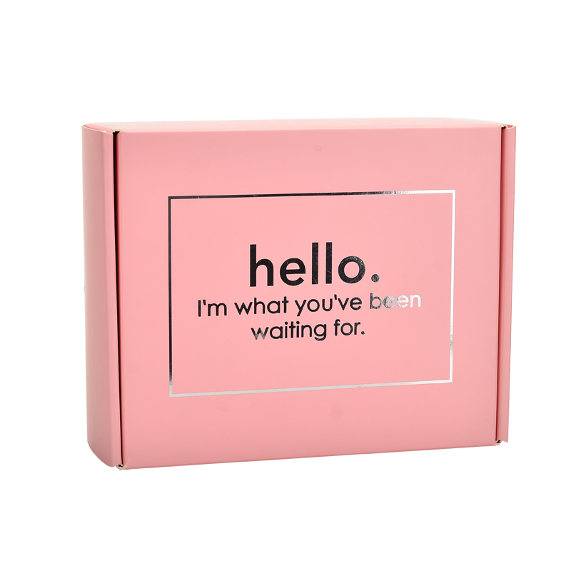 Manufacture Customized Colored Mailer Boxes With Custom Logo Printed Packaging Pink Boxes Durable Apparel Hat