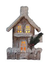 led christmas village set  small wooden decorative houses  decorative houses for christmas 71263