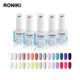 Gel Polish Uv Nail Gel Polish RONIKI Free Sample Private Label Wholesale Color Soak Off Uv Gel Nail Polish