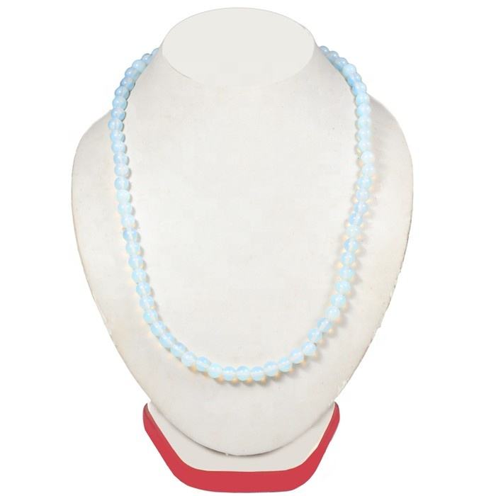 Opalite Beads Necklace | Gemstone Bead Necklaces