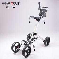 Hot-selling High Quality  Golf Trolley Golf Push Pull Trolley Custom Made Golf Cart
