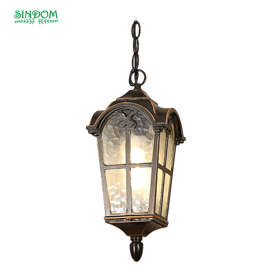 American style led indoor and outdoor use vintage decorative pendant light