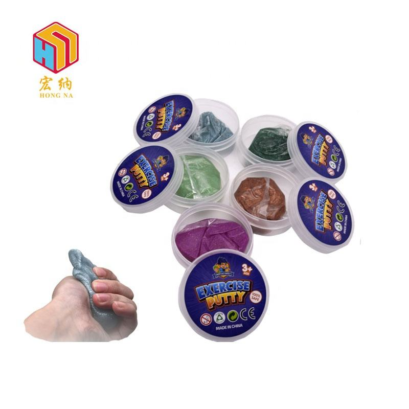 customized emphatic putty sanitation soft DIY slime toys putty for kids