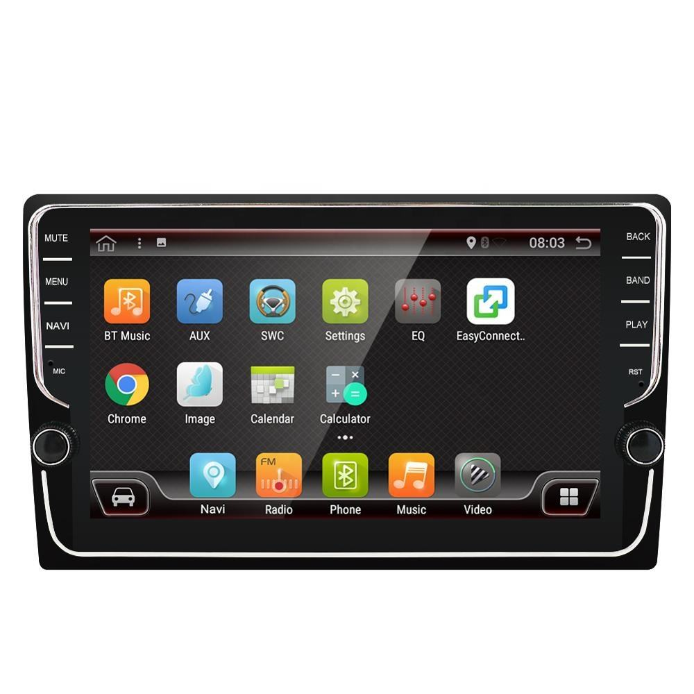 "PX6 android 9.0 Car Stereo 9 ""Touch screen con pulsanti di Apple CarPlay App car audio <span class=keywords><strong>lettore</strong></span> dvd 1din IPS e 2.5D screen AHD DSP"
