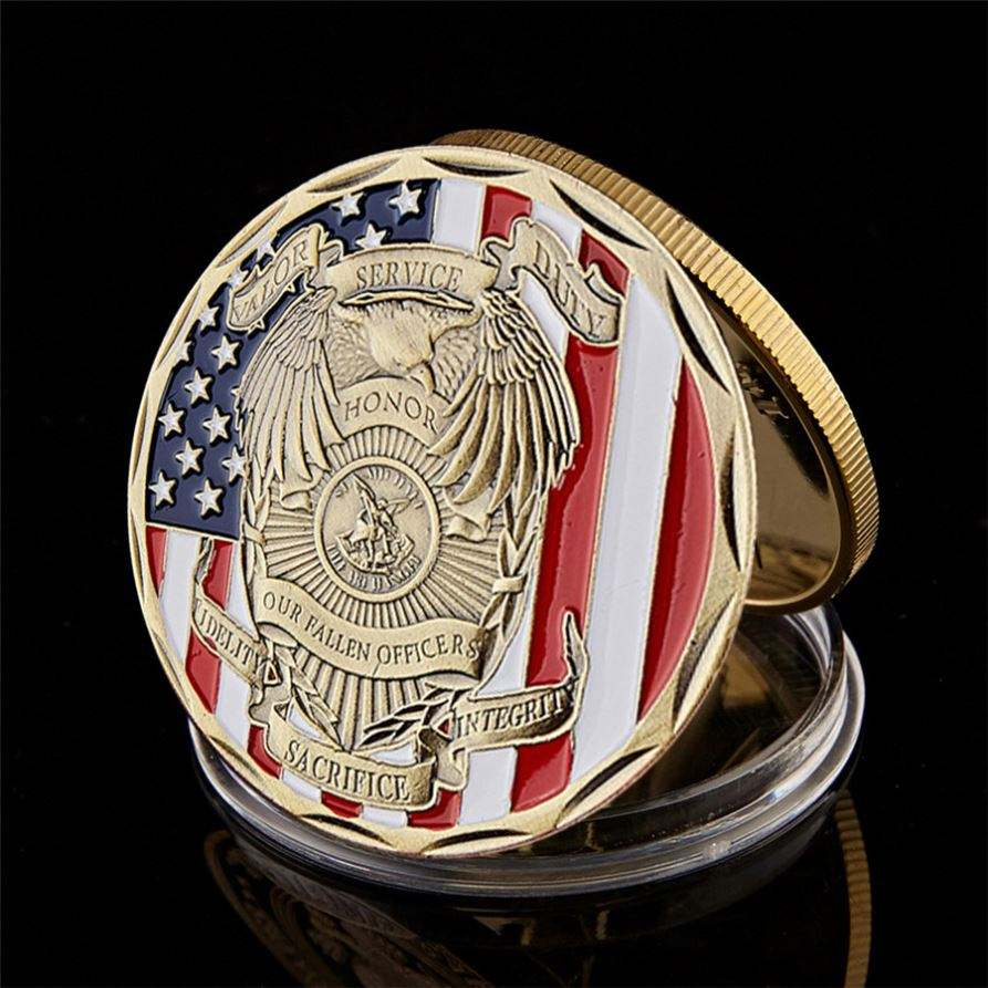 Decorative Antique Bronze America us fireman prayer rescue design 911 anniversary sweeping ancient challenge coin