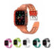Watch Iwatch Band Transparent Tpu Resin Smart Watch Strap For Apple IWatch Band 42 44 38 40 Mm