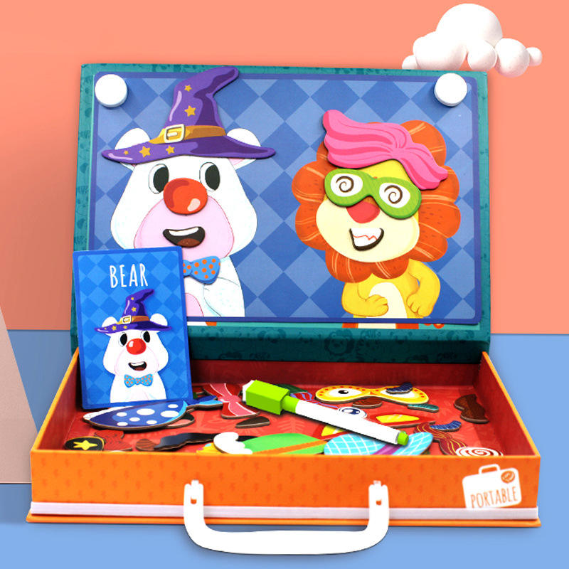 Puzzle Paper And Wood Customized Cartoon Map Diy Toy Handmade Box Metal Creative Jigsaw Puzzle