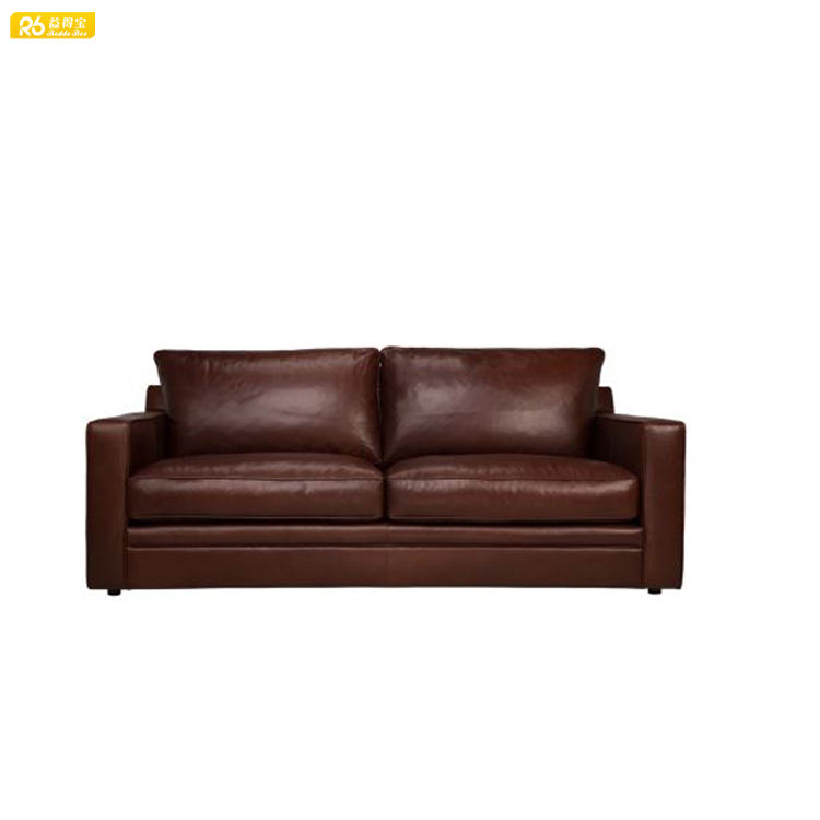 brown and beige buffalo leather sofa ashley furniture leather