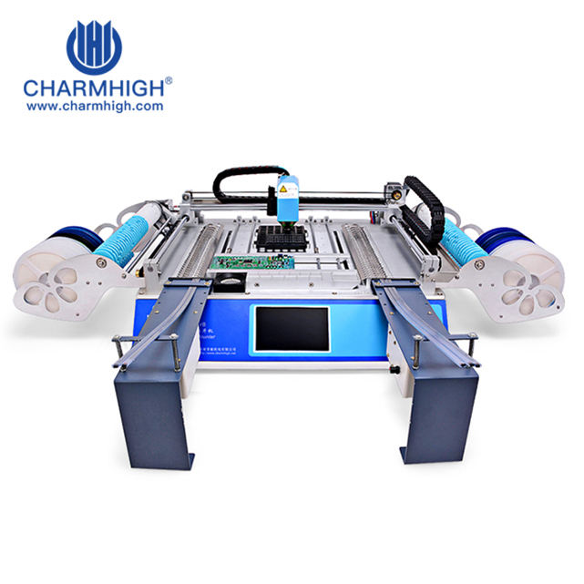 Automatische Hoge Precisie Led Smt 460 Pcb Machine/Led Pick Place Machine Led Lamp Productielijn