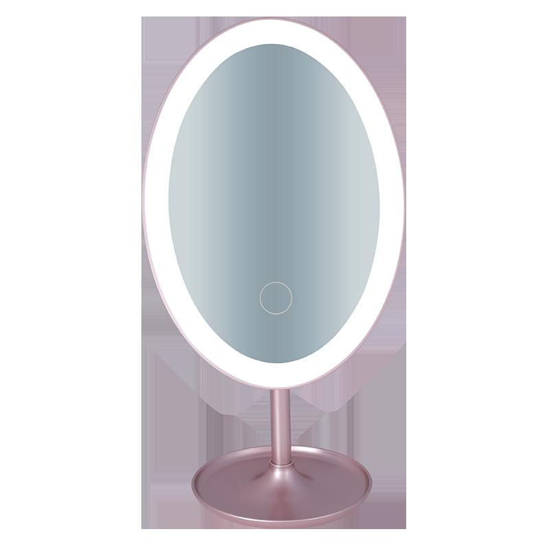 Toptan Aynalar Seyahat Taşınabilir Kompakt Işıkları Ile Işıklı parlak LED makyaj aynası