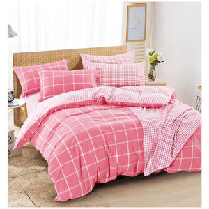 Wholesale Washed 100% Cotton Bedding Bed Sheet Set