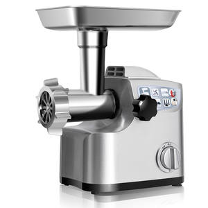 Professional Home Use Polished Stainless Steel Meat Mincer Electric Meat Grinder