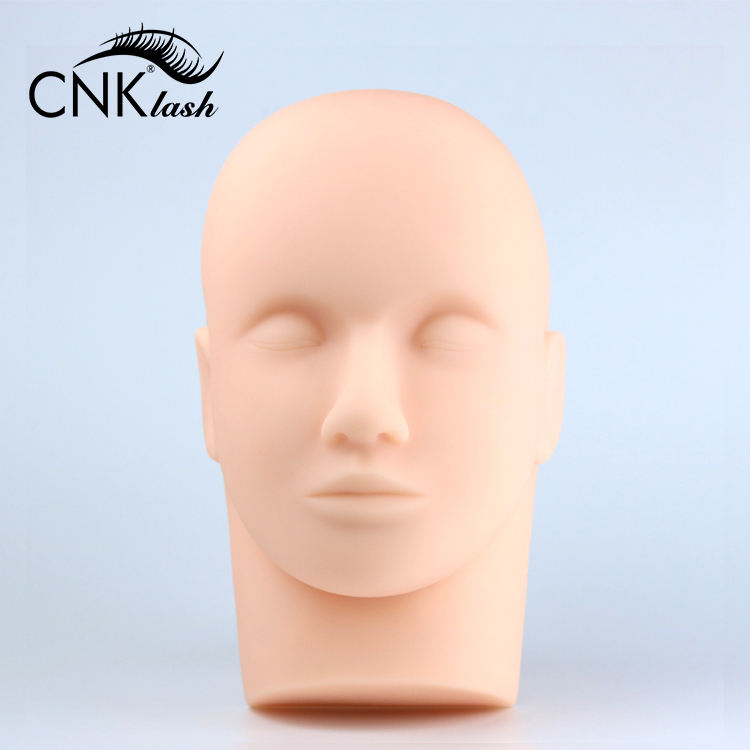 Plastic Lash Manniquins <span class=keywords><strong>Model</strong></span> Training Maniquines Display Manequin Met Wimpers Maniquin Head Voor Wimpers