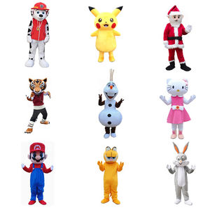 High quality Party popular adult cartoon character animal mascot costume