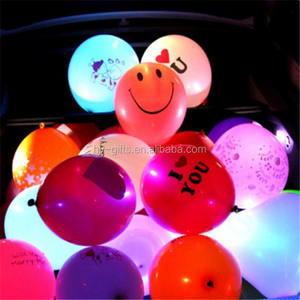Party event kerst verjaardag bruiloft decoratie led ballon mode groothandel custom led ballon