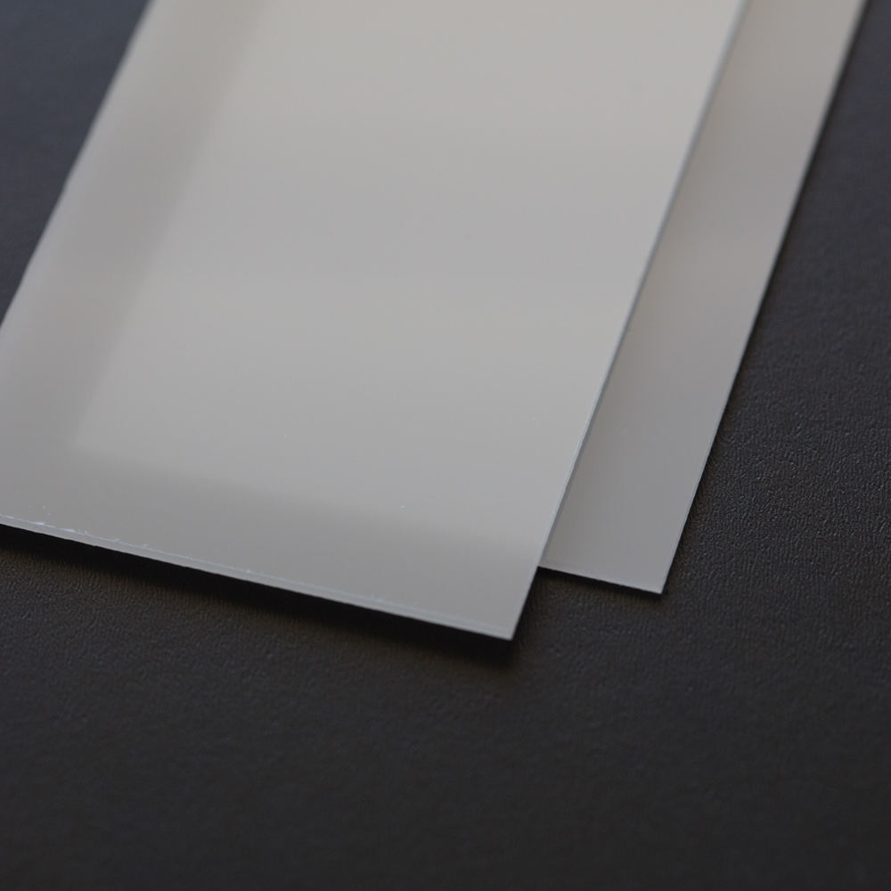 Led Diffuser Sheet 1.2mm Thick Polish Surface LED Light Diffusing Polycarbonate Sheet