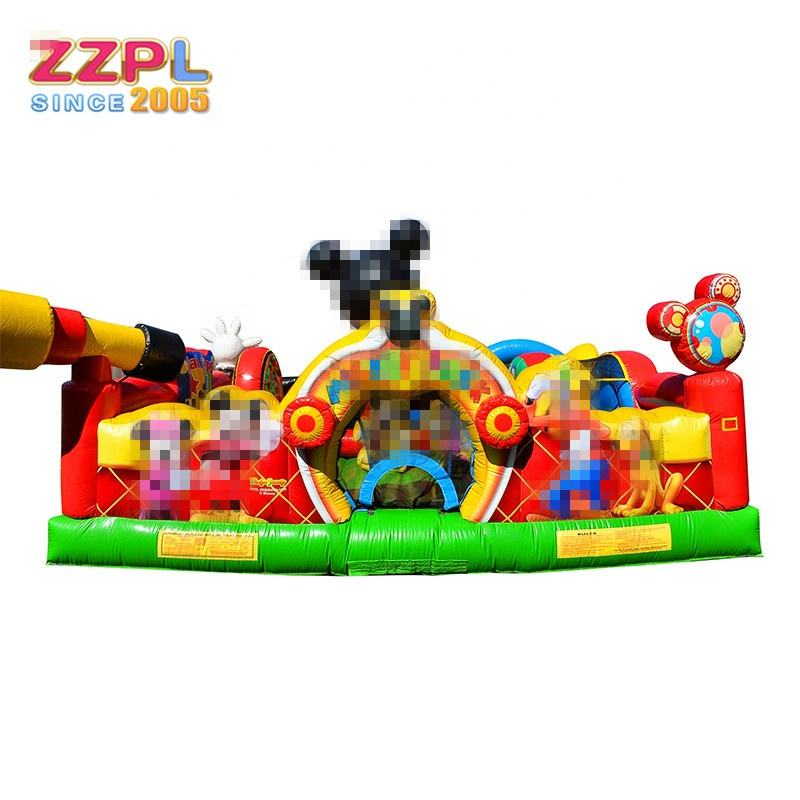 Mickey Mouse Theme Park inflatable bounce house, inflatable products