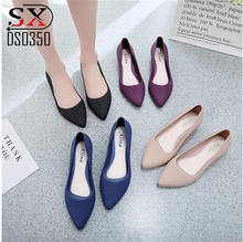 Wholesale Fashion Low Heel Loafers Women Elegant Flat Dress Shoes for Ladies