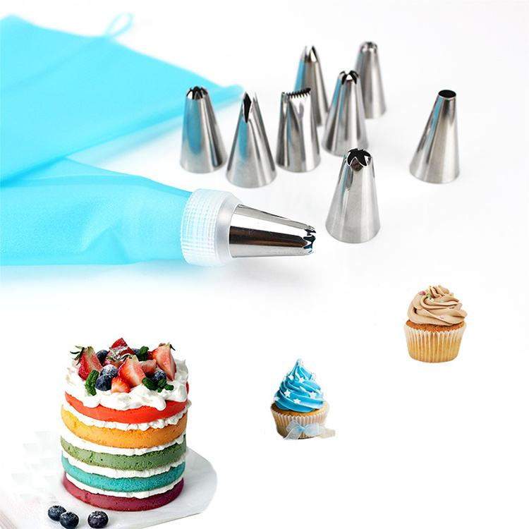 Reposteria Fondant Baking Tools Kit Cake Decorating Set With TPU Pastry Bags