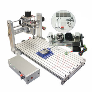 Mini Diy Cnc Router 3060 4 As 3d Cnc Graveur Houtsnijwerk Freesmachine