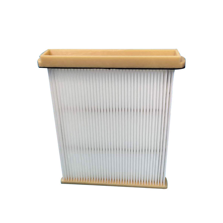 Dust Polyester Pleated Remove Air Filter, High Dust Capacity Hepa Air Filter Element, Polyester Dust Collector Manufacturer