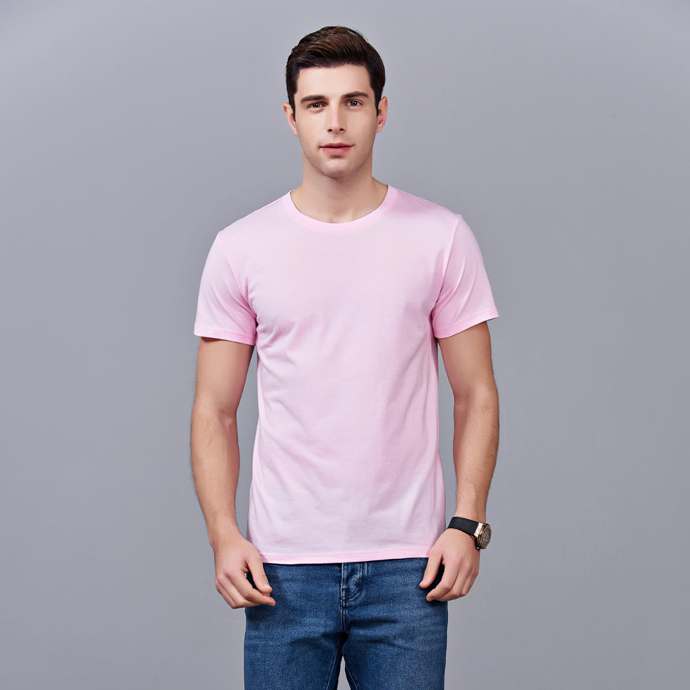 Dropshipping Basic High Quality Wholesale Unisex Print Dry Fit Oversized Cotton Plain Men T Shirt