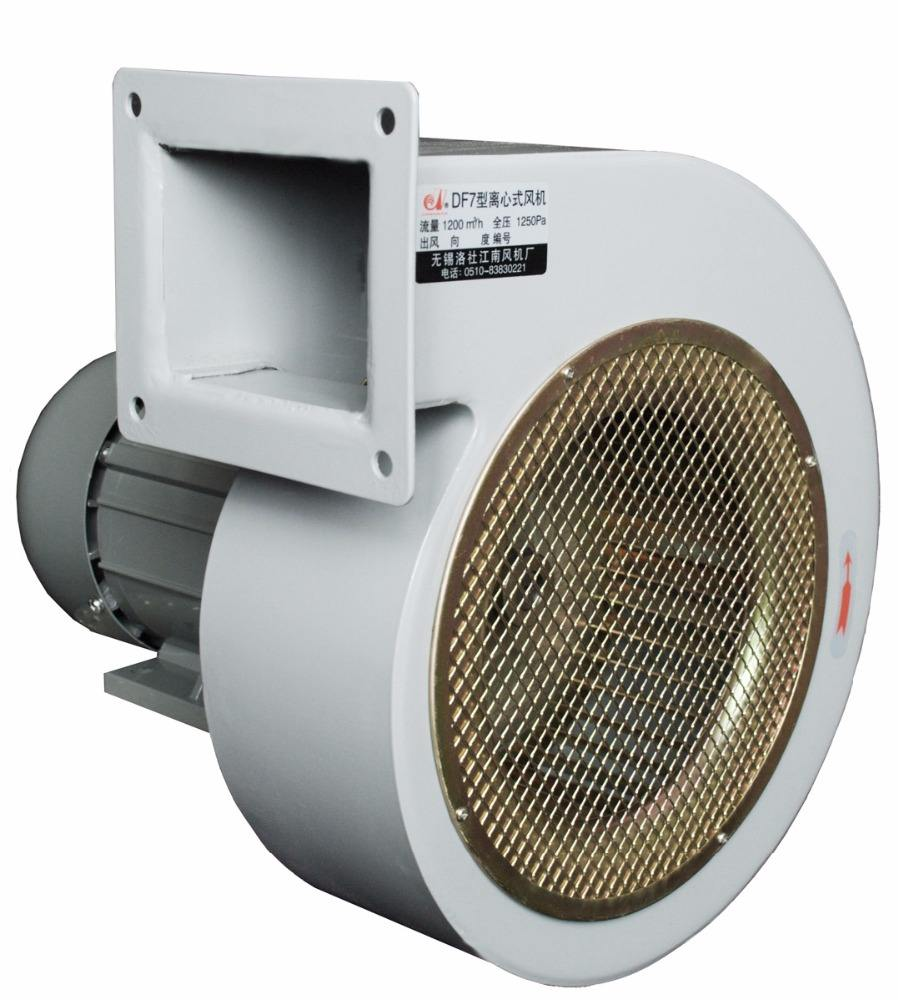 Low noise inline small high temperature resistant Centrifugal dust smoke exhaust induced forced draft fan price