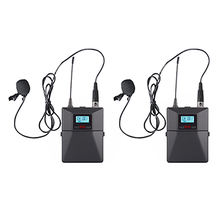 PA System Professional UHF wireless lapel microphone for teacher