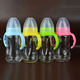 Best 240Ml Big Soft Nipple Glass Baby Milk Bottle For Newborns