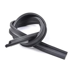 6mm Boneless Windscreen Natural Wiper Blades Rubber Refill Fit Frameless Soft Boneless Wiper Blade