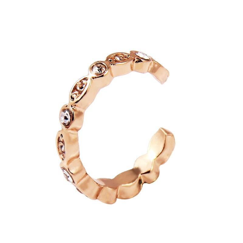 Gaya panas C <span class=keywords><strong>telinga</strong></span> clamp Sederhana fashion alloy anting-anting minimalis perhiasan