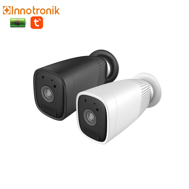 Innotronik Weatherproof Smart Alarm WiFi 2MP Battery Powered Camera 12 Months Lasting CCTV Support Tuya APP
