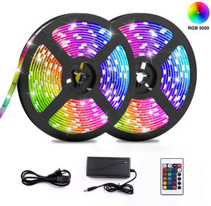 Hot Product Outdoor Indoor 5M 270L 5050 Smd Color Changing Rgb Remote Control Waterproof Led Strip Lights