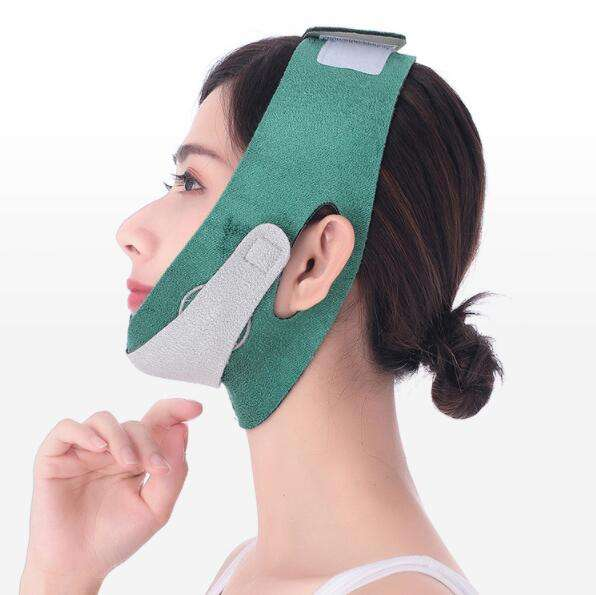 Produceren Ultra-Dunne Gezicht Afslanken V Shaper Facial Afslanken Bandage Cheek Lift Up Strap