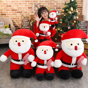 80cm High Quality Stuffed Christmas Santa Claus Plush Toys Santa Doll