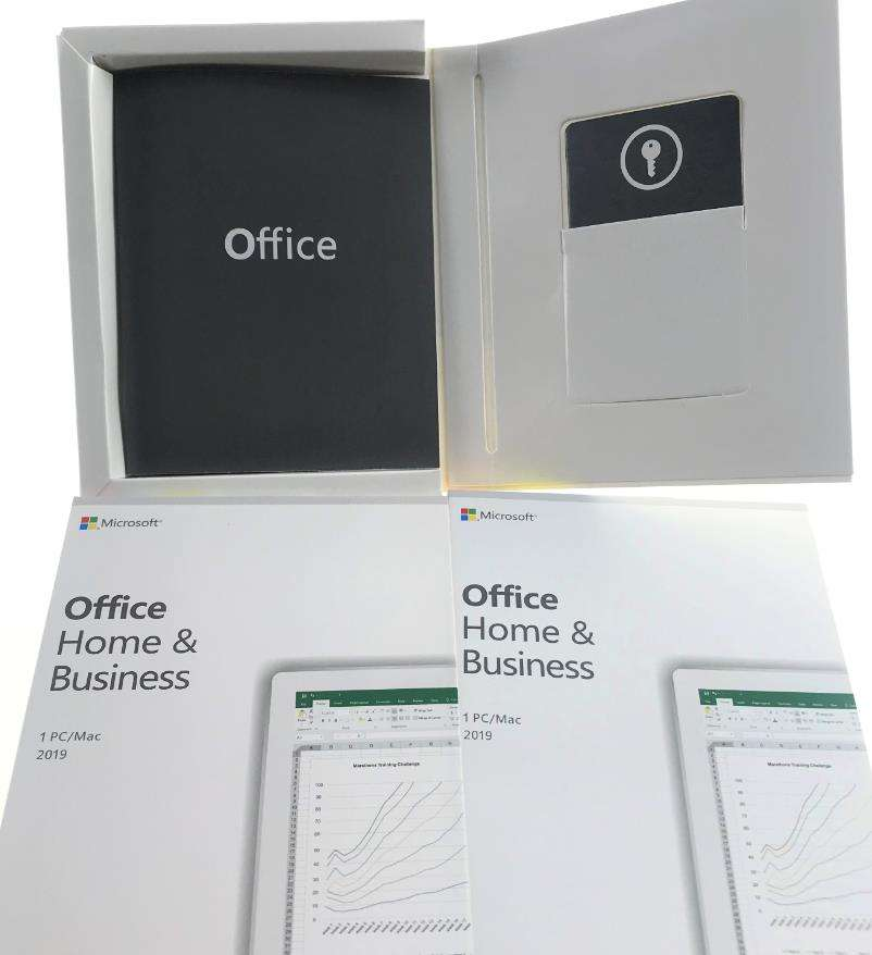 Microsoft office key 2019 maison et entreprise PKC mutli langue l'activation en ligne clé d'origine sans DVD