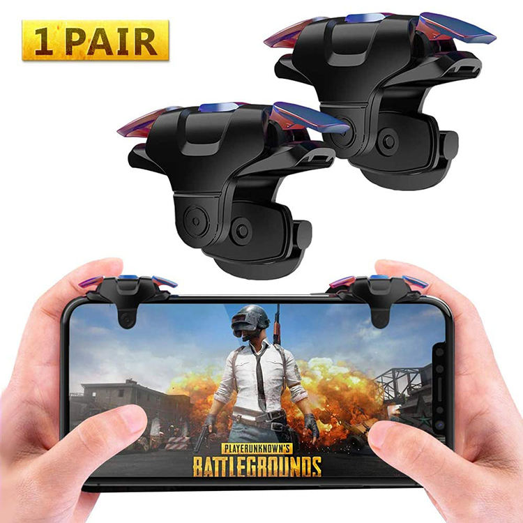 Free Ship Mobile Phone Game Controller Mini Joystick Shooting Buttons Fire Aim Key,Trigger Shooter Controller Gamepad